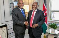 محادثة هاتفية بين كينياتا ورامافوسا عن القمة الأفريقية