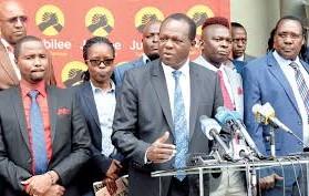 الحزب الحاكم جوبيلي ينئى بنفسه عن المشاركة في الانتخابات الفرعية في كل من ماتونغو, ومشاكوس.