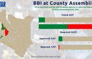 أصبح مجلس مقاطعة وست بوكوت أول مجلس مقاطعة في اقليم ريفت فالي, يقرّ على مشروع القانون