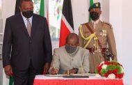الرئيس أهورو كينياتا يوقّع عدة صفقات مع الرئيس البورونديّ, ايفاريست