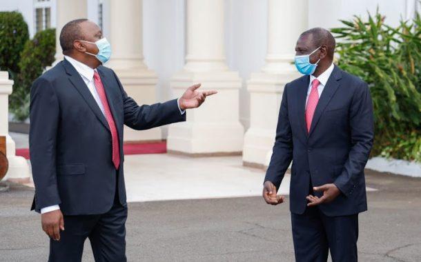 حلفاء الرئيس أوهورو يطالبون روتو بالتنحي عن الحكومة لعدم احترامه للرئيس