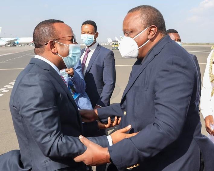 الرئيس أوهورو يصل الى إثيوبيا في زيارة رسمية لحضور حفل منح رخصة لشركة